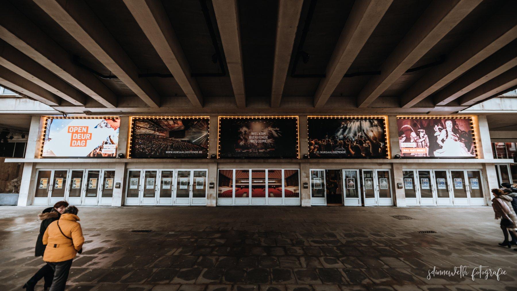 Ingang Kursaal Oostende
